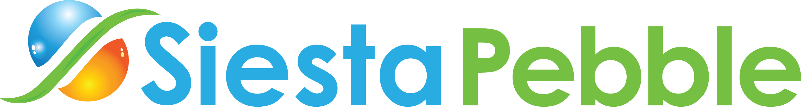 siesta pebble company logo