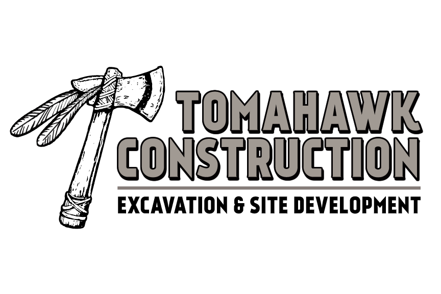 tomahawk construction logo
